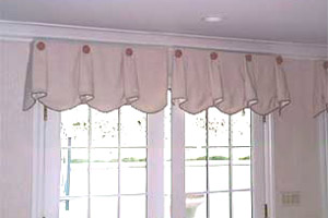 Both doors function fully. & Functional Valance Designs for Doors and Shutters